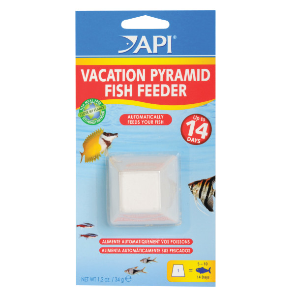 VACATION PYRAMID FISH FEEDER
